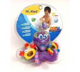Žaislas į vonia Aštuonkojis su juriniais gyvūnais