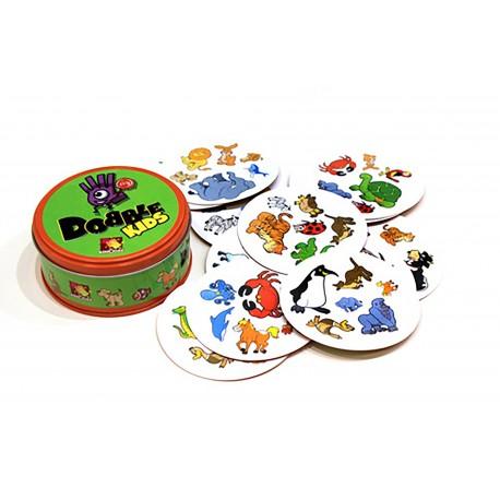 """Žaidimas su gyvūnų vaizdais """"Dobble Kids"""""""