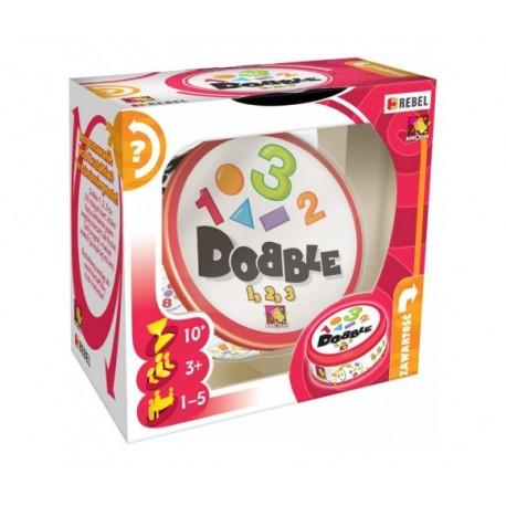 Žaidimas su skaičiais Dobble 1-2-3