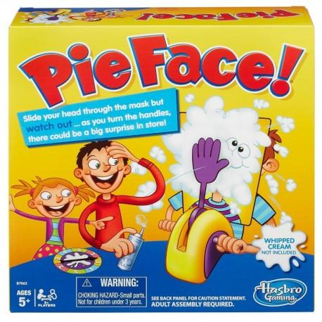 """Stalo žaidimas """"Pie face!"""""""
