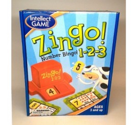 Stalo žaidimas - ZINGO su skaičiais