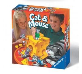"""Stalo žaidimas """"Katinas ir pelės"""""""