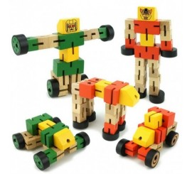Medinis robotas - transformeris