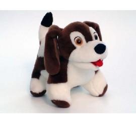 Minkštas šuniukas Rudis