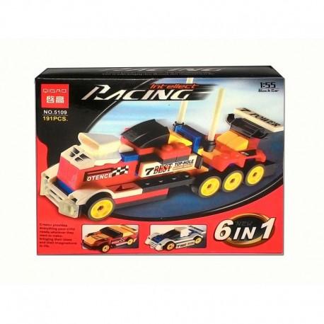 Konstruktorius - 4 mašinos arba 2 sunkvežimiai